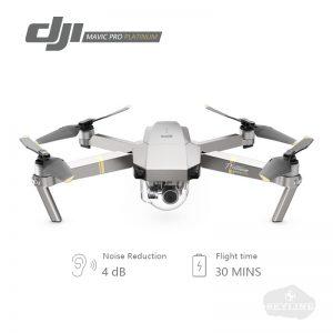 DJI Mavic Pro Platinum Fly More Combo dji mavic pro platinum quadcopter 4K HD Video Recording